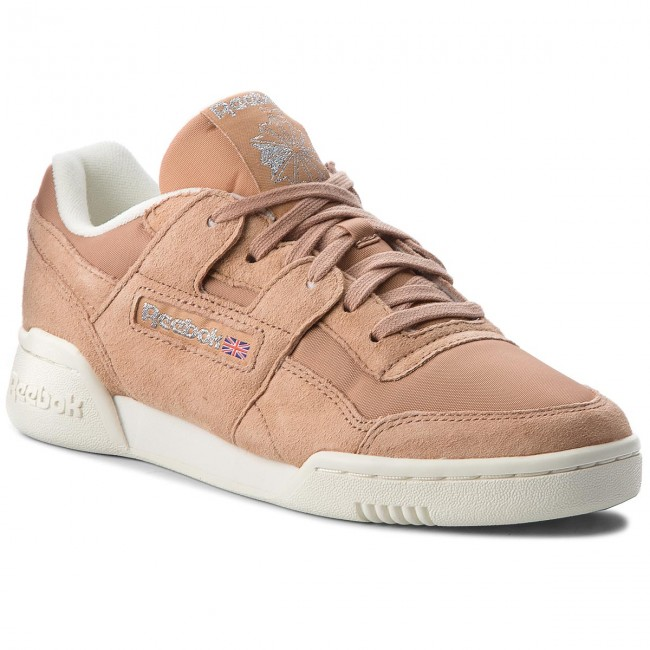 Shoes Reebok Workout Lo Plus CN3835 Bare BrownChlkSilver