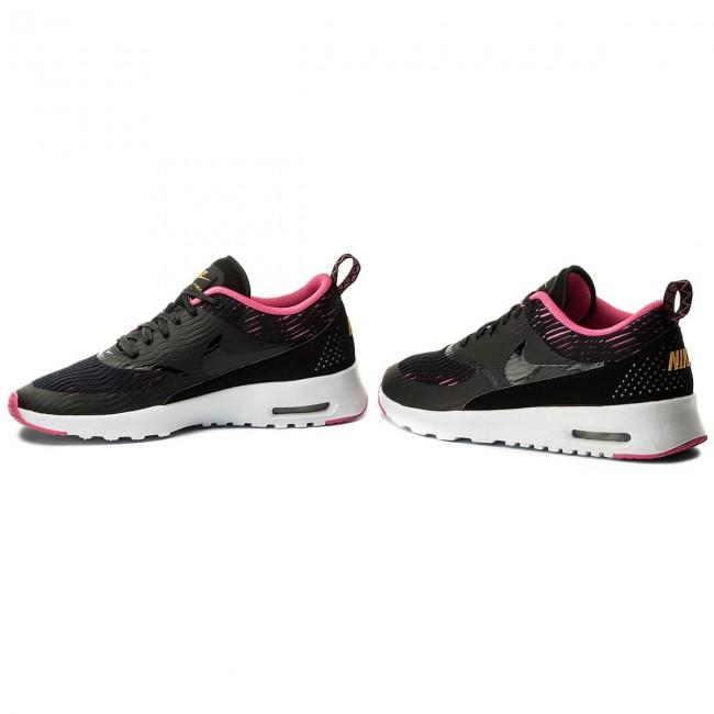 Nike Wmns Air Max Thea Em (BlackBlack Pink Blast) With High Qulity