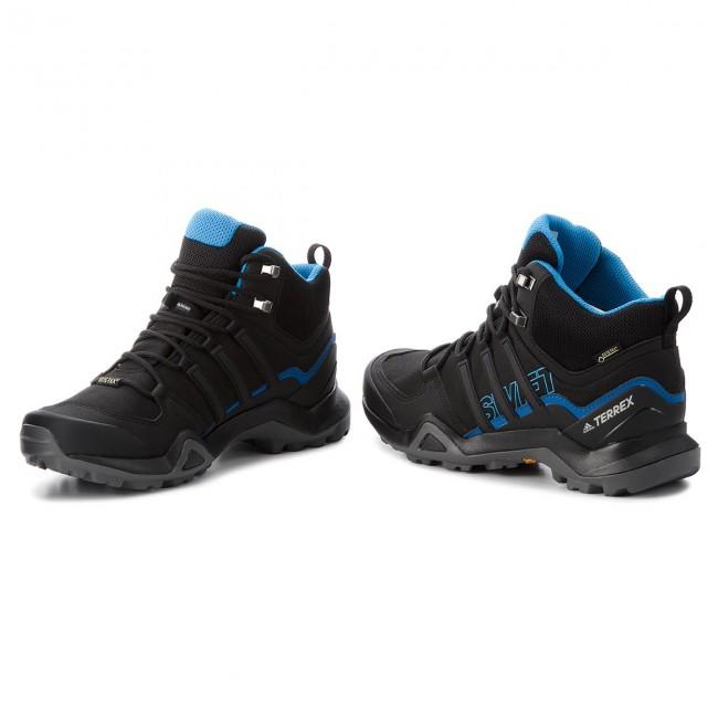 Shoes adidas Terrex Swift R2 Mid Gtx GORE TEX AC7771 CblackCblackBrblue