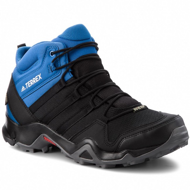 Civilizar Siesta Sedante  Shoes adidas - Terrex AX2R Mid GTX GORE-TEX AC8035 Cblack/Cblack/Blubea -  Trekker boots - High boots and others - Men's shoes | efootwear.eu