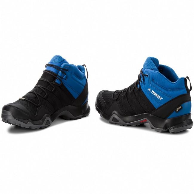 Shoes adidas Terrex AX2R Mid GTX GORE TEX AC8035 CblackCblackBlubea