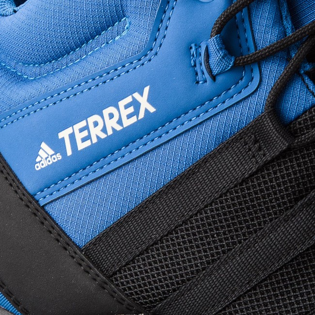 pedazo Electricista implícito  Shoes adidas - Terrex AX2R Mid GTX GORE-TEX AC8035 Cblack/Cblack/Blubea -  Trekker boots - High boots and others - Men's shoes | efootwear.eu