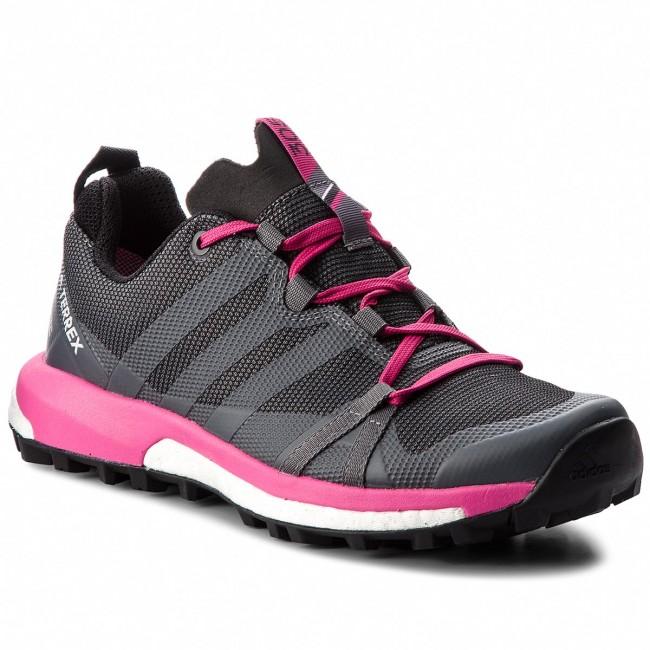 Shoes adidas - Terrex Agravic Gtx W GORE-TEX AQ0233 Grefou/Grefou/Reamag