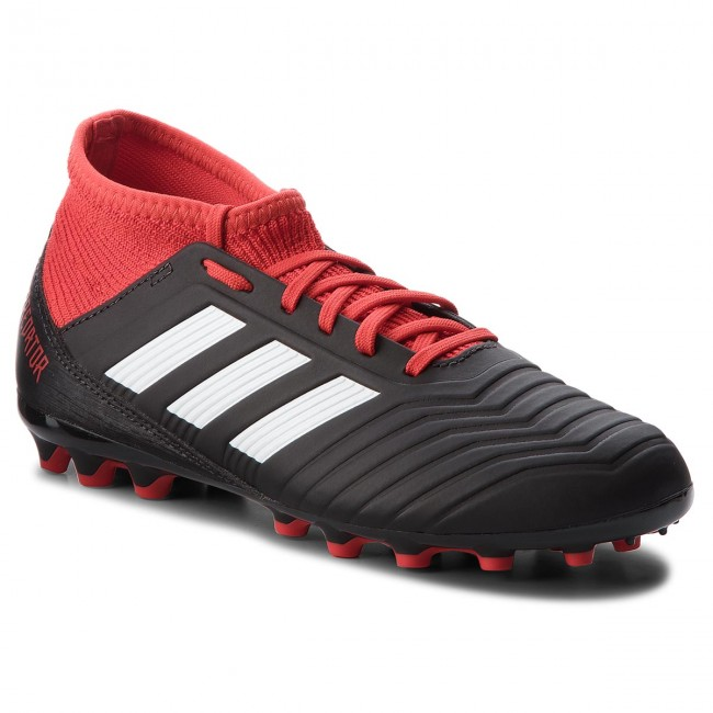 Shoes adidas Predator 18.3 Ag J CG6358 CblackFtwwhtRed