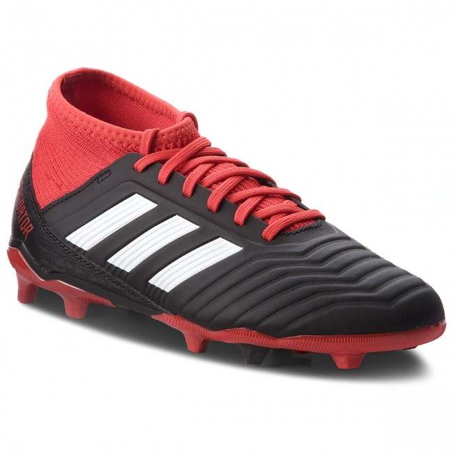 Shoes adidas Predator 18.3 Fg J DB2318 CblackFtwwhtRed