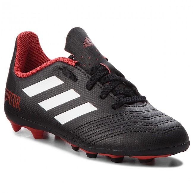 suéter Estación de ferrocarril Anécdota  Shoes adidas - Predator 18.4 Fxg J DB2323 Cblack/Ftwwht/Red - Football -  Sports shoes - Men's shoes   efootwear.eu