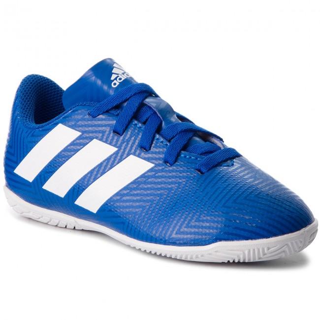 restante ajo factible  Shoes adidas - Nemeziz Tango 18.4 In J DB2384 Fooblu/Ftwwht/Fooblu -  Football - Sports shoes - Men's shoes | efootwear.eu