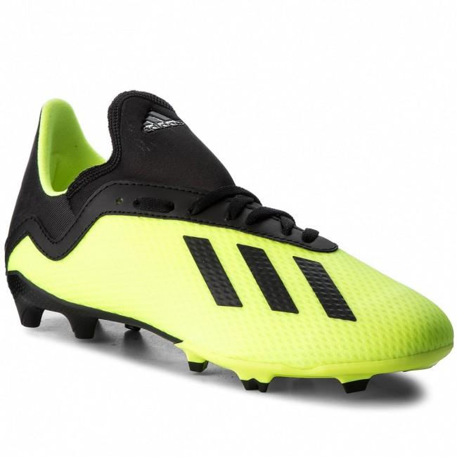 huge discount 5411e 0b411 Shoes adidas - X 18.3 Fg J DB2418 Syello/Cblack/Syello
