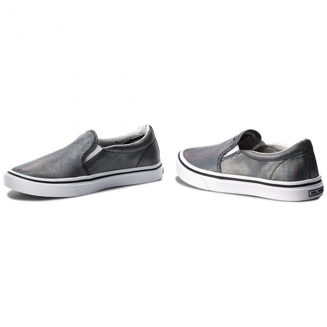 Schuhe TOMMY HILFIGER Metallic Light Weight Slip On
