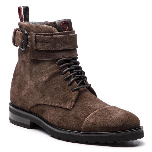 Knee High Boots STRELLSON New Brown 4010002483 Dark Brown 702