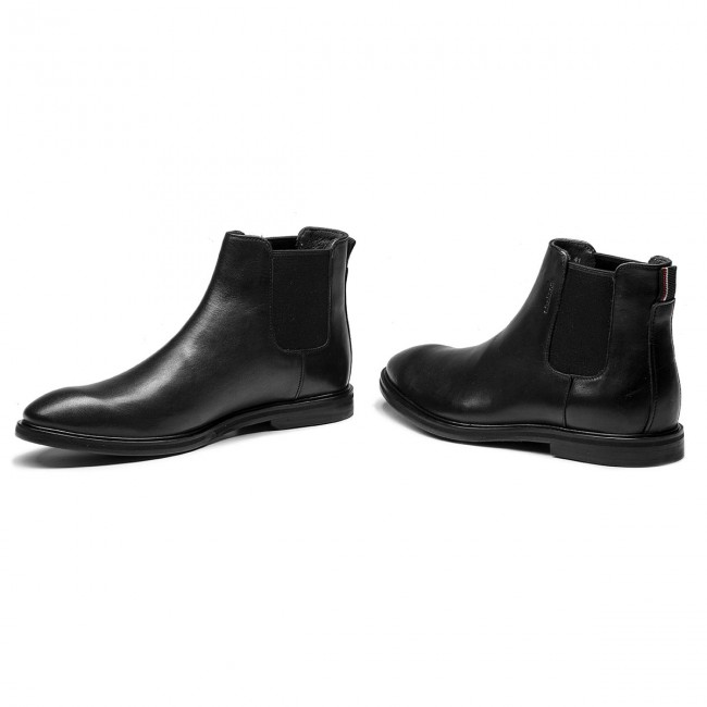 Ankle Boots STRELLSON - New Harley 4010002490 Black 900 - Chelsea boots - High boots and others - Men's shoes