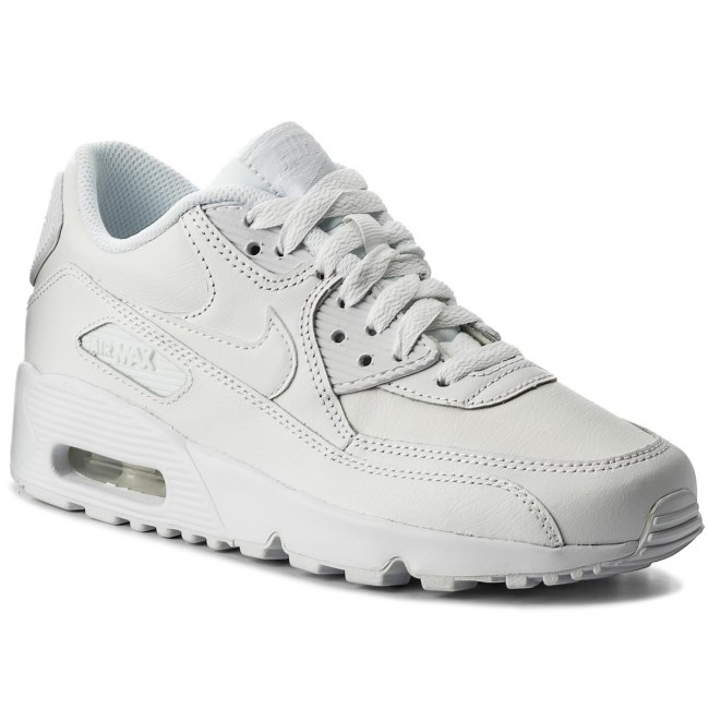 Shoes NIKE Air Max 90 Ltr (GS) 833412 100 WhiteWhite