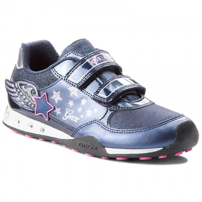 Shoes GEOX - J.N.Jocker G.A J74G2A 0AJAS C4268 DD Navy/Fuchsia