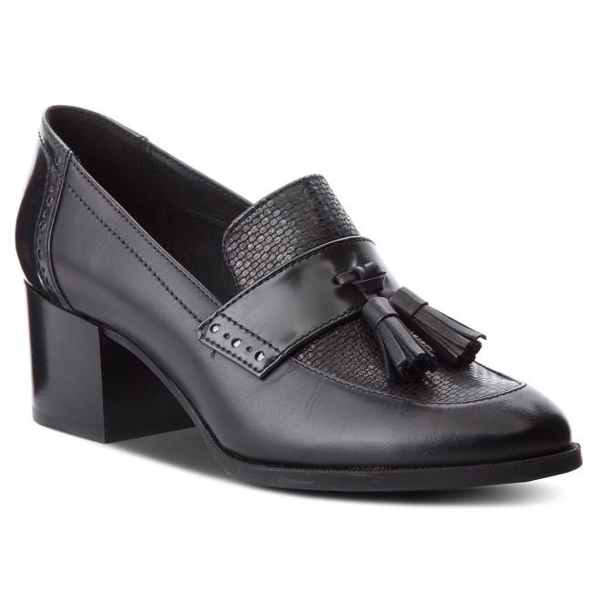 Shoes GEOX D Heriete M. A D748NA 043CF C9999 Black
