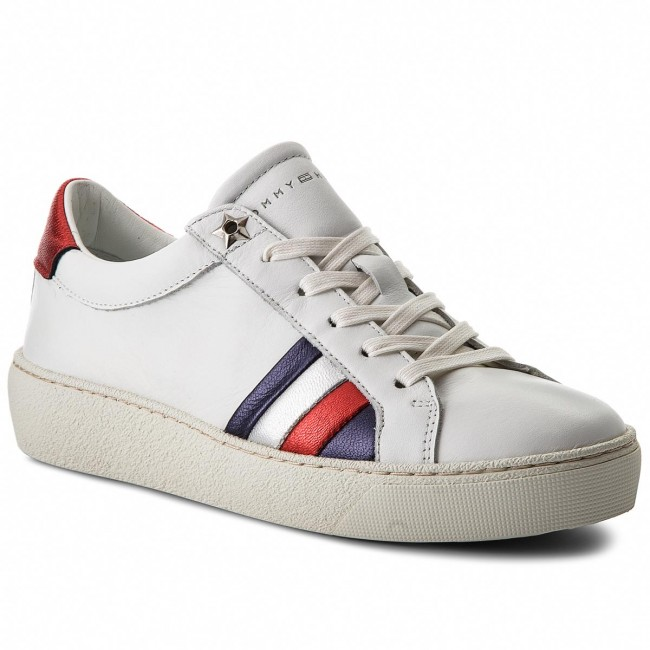 Sneaker Iconic Sneakers Tommy White Hilfiger Fw0fw03458 Corporate OPXnk8w0