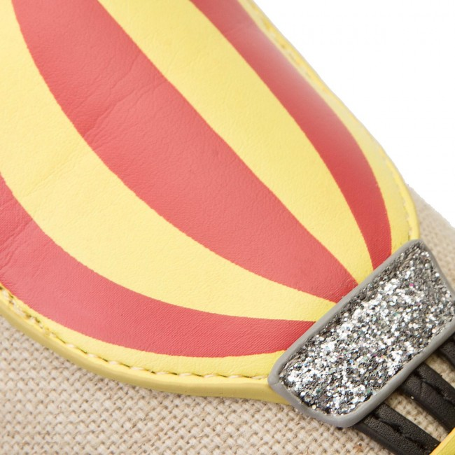 Espadrillas TOMMY HILFIGER Patch Espadrille Balloon FW0FW03549 Tapioca 639