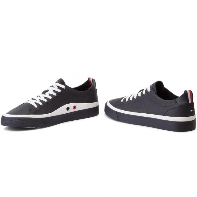 Leather Sneaker FM0FM01627 Midnight 403