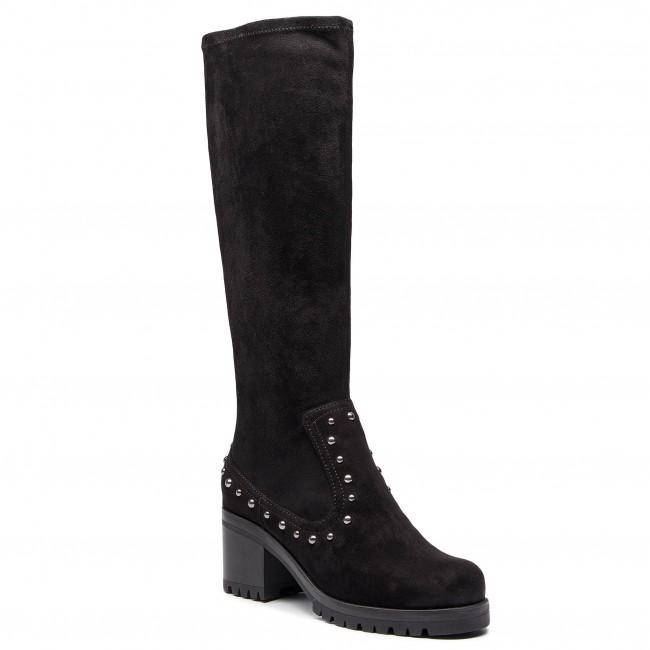 Knee High Boots UNISA - Grazia St Black