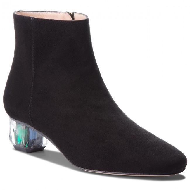 les ventes en gros hot-vente plus récent mode la plus désirable Boots STUART WEITZMAN - Dark Star YL53534 Black Suede