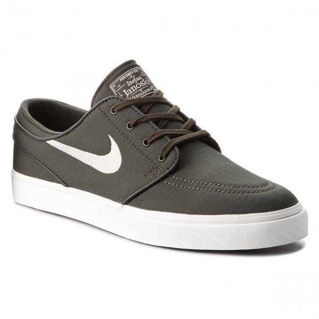 Shoes NIKE - Zoom Stefan Janoski Cnvs 615957 304 Sequoia/Light Bone