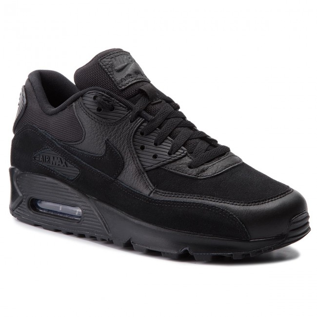 Shoes NIKE Air Max 90 Premium 700155 012 BlackBlack