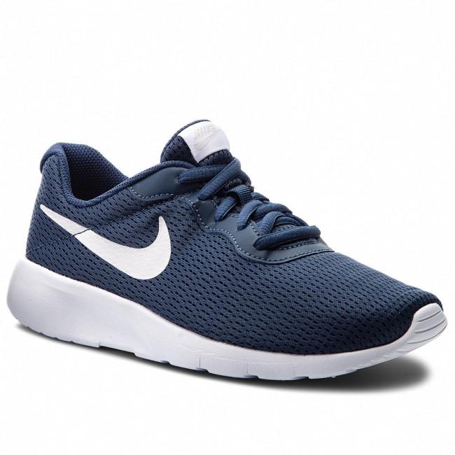 Shoes NIKE - Tanjun (GS) 818381 403 Navy/Vast Grey/White