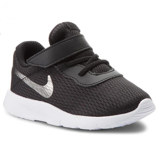 Shoes NIKE - Tanjun (TDV) 818383 014 Black/Mtlc Pewter/White