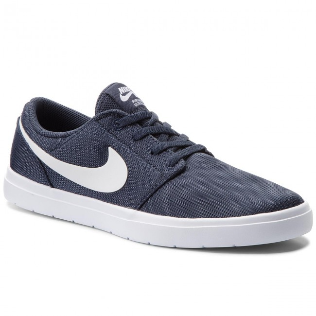 Shoes NIKE - Sb Portmore II Ultralight 880271 400 Thunder Blue/White/Black