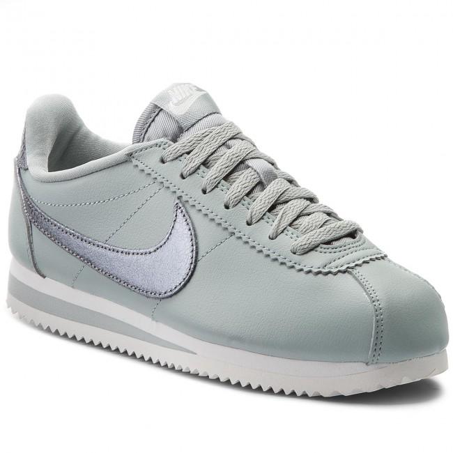Shoes NIKE - Classic Cortez Prem 905614 006 Light Pumice/Mtlc Cool Grey