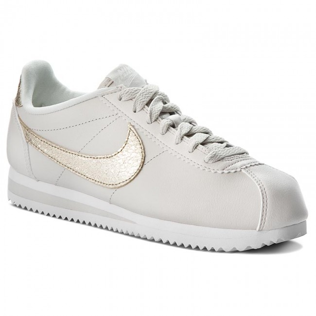 Shoes NIKE - Classic Cortez Prem 905614 007 Light Bone/Bronzed Olive