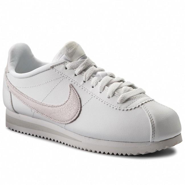 Shoes NIKE - Classic Cortez Prem 905614 102 Summit White/Mtlc Summit Wht