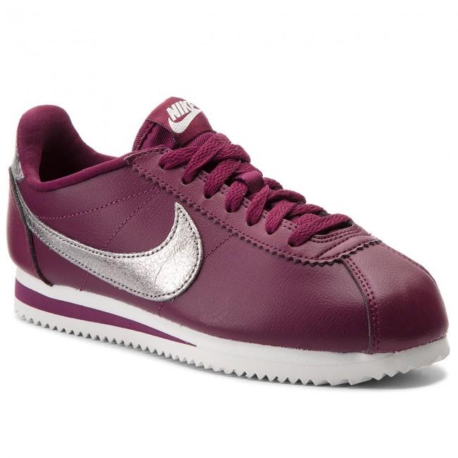 Shoes NIKE - Classic Cortez Prem 905614 601 Bordeaux/Mtlc Pewter