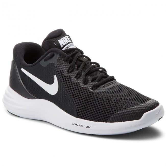Shoes NIKE - Lunar Apparent (GS) 917943 001 Black/White-Cool Grey