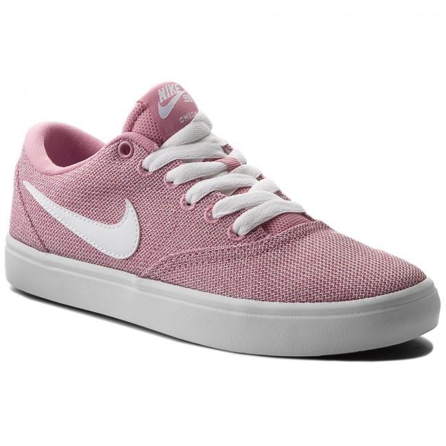 Shoes NIKE - Sb Check Solar Cvs P 921464 610 Elemental Pink/White/Black