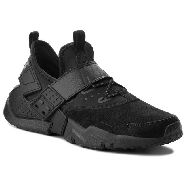 Shoes NIKE - Air Huarache Drift Prm AH7335 001 Black/Anthracite White