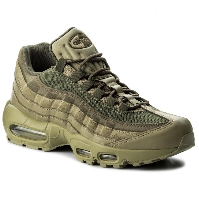 Shoes NIKE Air Max 95 Prm 538416 201 Neutral OliveNeutral Olive