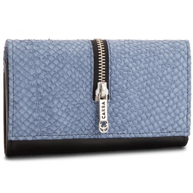 Large Women's Wallet CARRA - PC-69 Blue