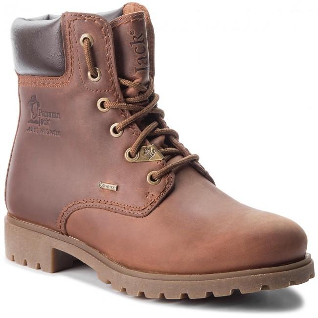 5f8fa46abdf Hiking Boots PANAMA JACK - Panama 03 Gtx GORE-TEX B6 Napa Grass Cuero/Bark  - Trekker boots - High boots and others - Women's shoes - efootwear.eu