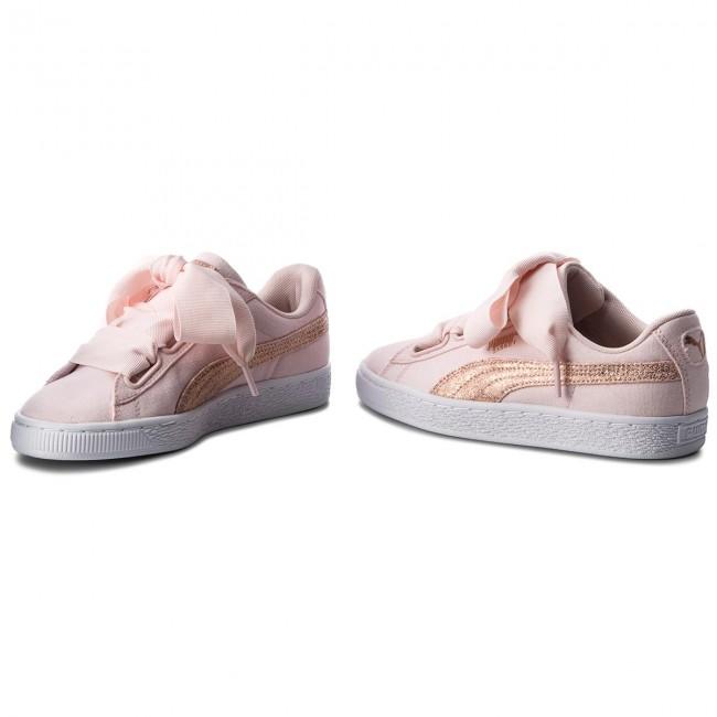 Sneakers PUMA Basket Heart Canvas 366495 02 PearlPuma