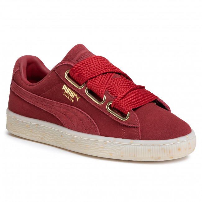 Sneakers PUMA - Suede Heart Celebrate 365561 02 Red Dahlia/Red Dahlia