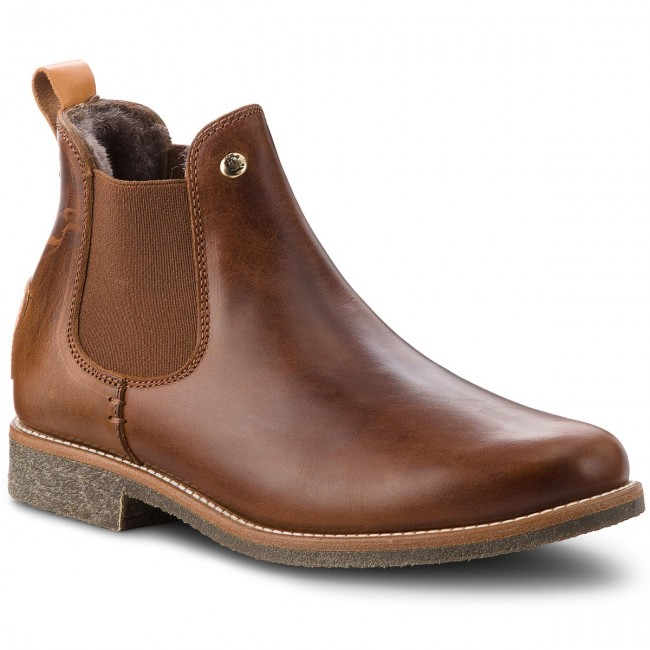 26f51414 Ankle Boots PANAMA JACK - Giordana Igloo Travelling B2 Napa Cuero/Bark