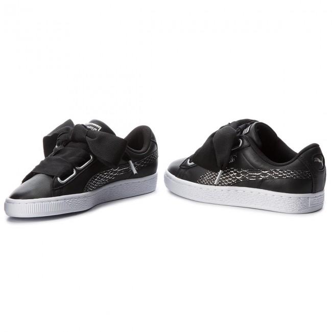 purchase cheap e7d98 060e1 Sneakers PUMA - Basket Heart Oceanaire 366443 01 Puma Black/Puma White