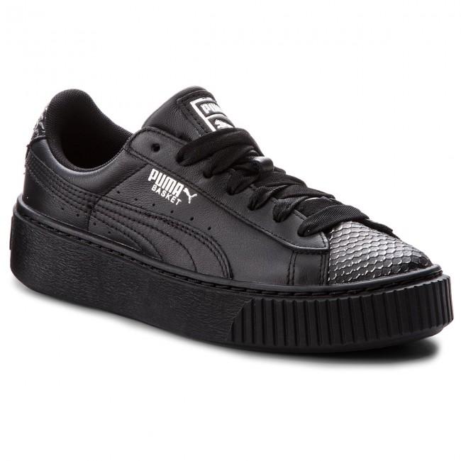 Sneakers PUMA Basket Platform Ocean 366442 01 PumaBlk