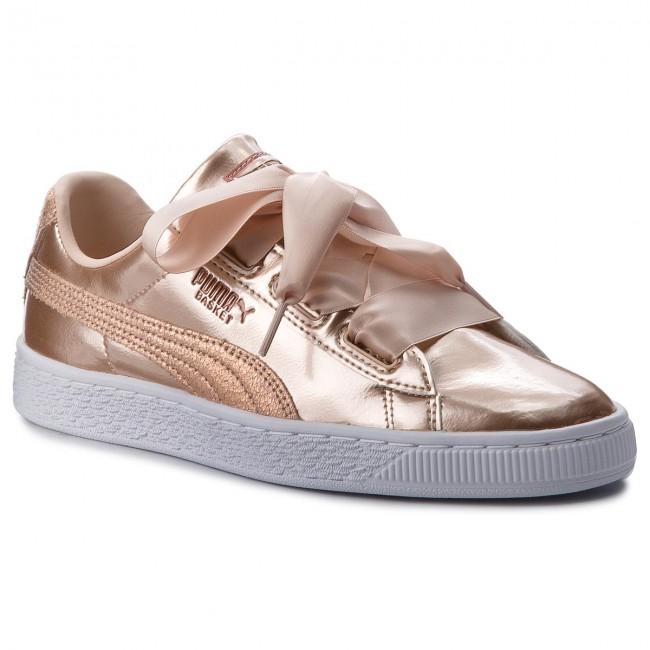 watch 93961 17b54 Sneakers PUMA - Basket Heart Lunar Lux Jr 365993 02 Cream Tan