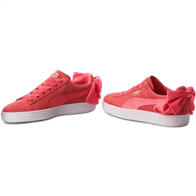 puma suede bow pink off 59% - stepxtech.in