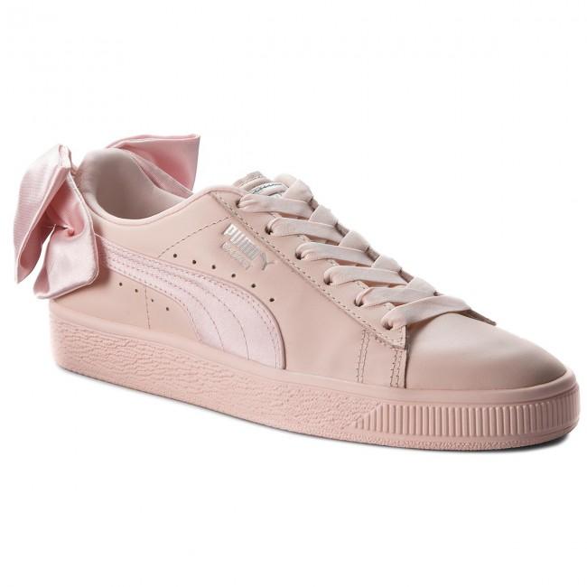 ala catalogar mensaje  Sneakers PUMA - Basket Bow Wn's 367319 02 Pearl/Pearl - Sneakers - Low  shoes - Women's shoes | efootwear.eu