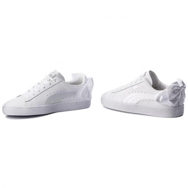 Sneakers PUMA Basket Bow Jr 367321 01 Puma WhitePuma