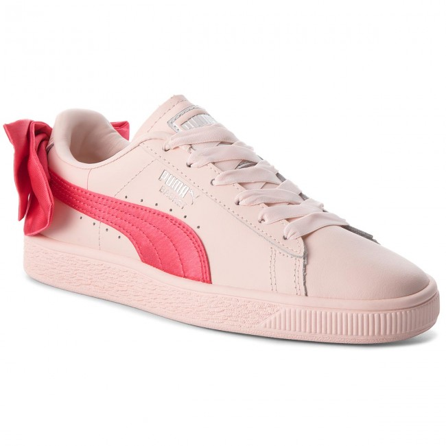cheap for discount 04d21 75b3b Sneakers PUMA - Basket Bow Jr 367321 02 Paradise Pink/Paradise Pink