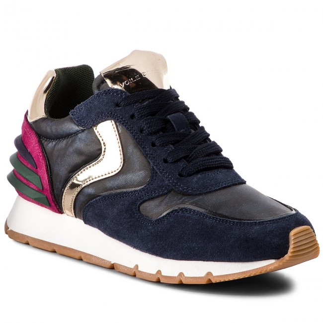 Sneakers VOILE BLANCHE Julia Power 0012012766.03.9122 JeansBluFuxia Power Bicolor