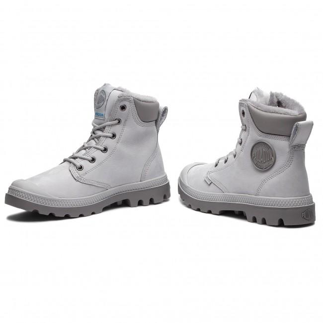 c36a5345028 Hiking Boots PALLADIUM - Pampa Sport Cuff Wps 72992-096-M Vapor/Cloudburst